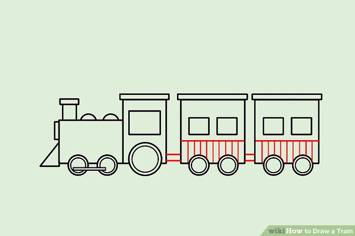 Drawn railroad easy 14 wikiHow 4 Image a