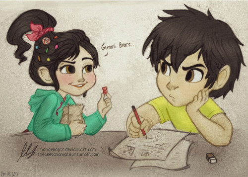 Drawn railroad hiro hamada Life in I an Vanellope