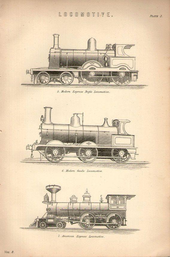 Drawn railroad illustration Vintage illustration drawing illustration Best