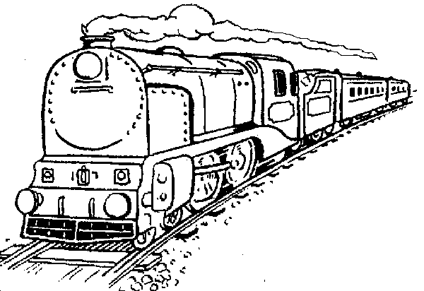 Drawn railroad indian Steam Free locomotive Clip Art