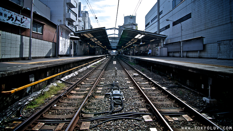Drawn railroad linear perspective Mandala 1 point photography photography