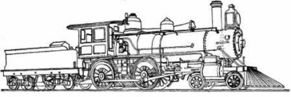 Drawn railroad means transport Railroads 1800s: in History kids