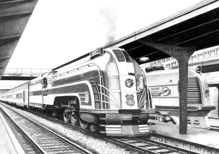 Drawn railroad metro train Shayne Drawings Railroad  Rail