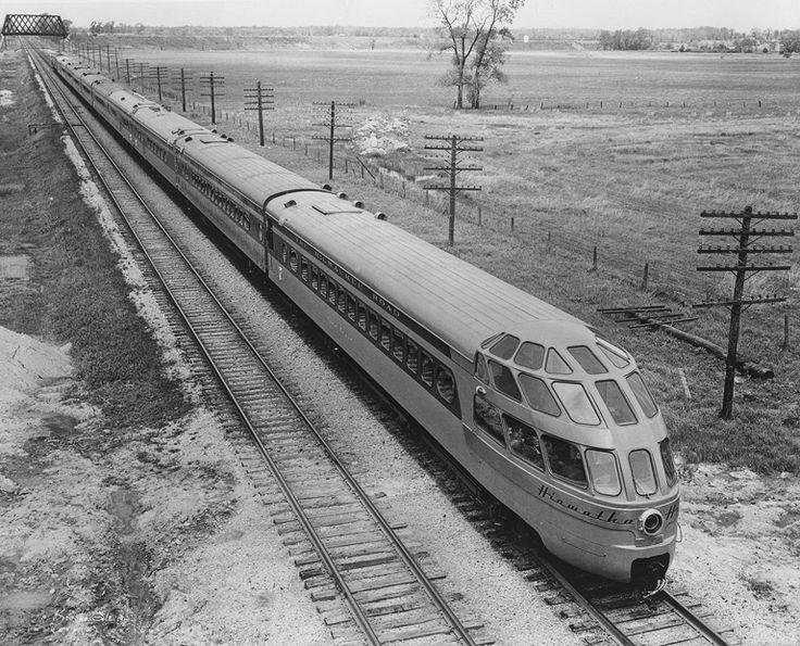 Drawn railroad passenger train TRAINS! 812 images on TRAINS!