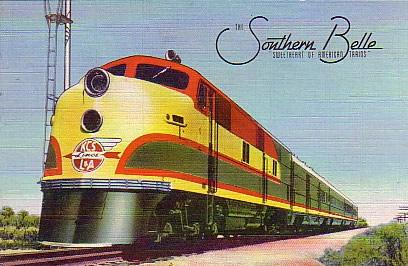 Drawn railroad passenger train Of Stations train Railroads Pacific