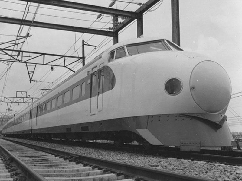 Drawn railroad shinkansen 50 Shinkansen you Thank anniversary