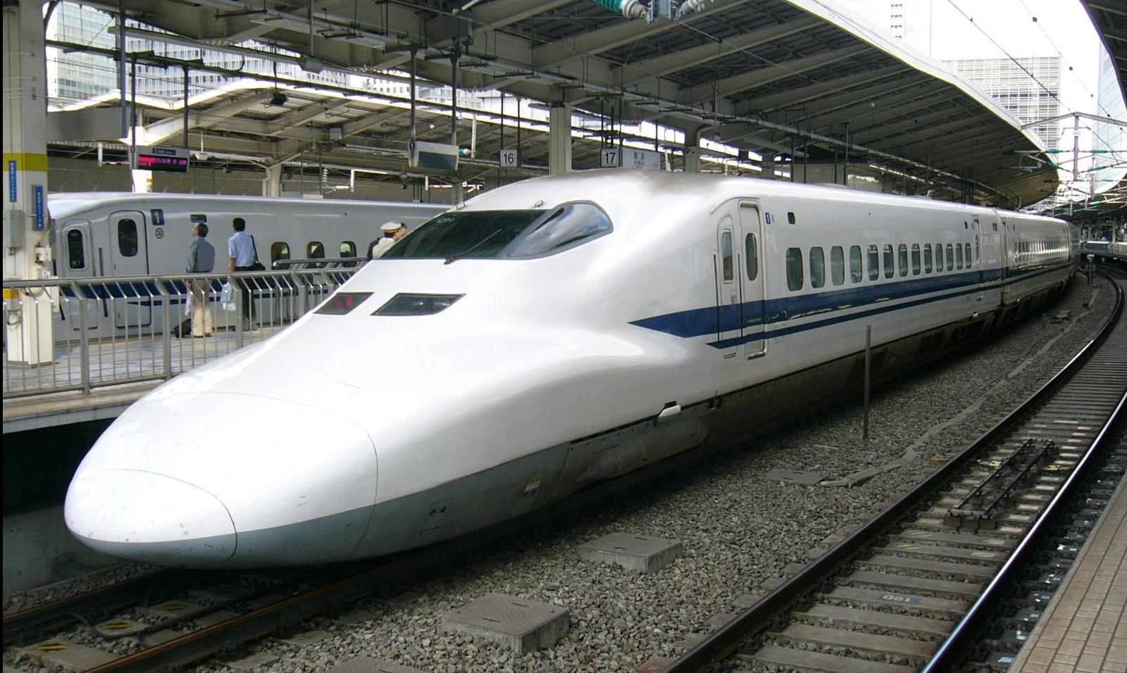 Drawn railroad shinkansen Wonders 3 the the Behind