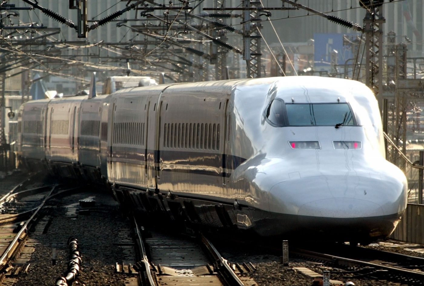 Drawn railroad speed train Train That Could Change City