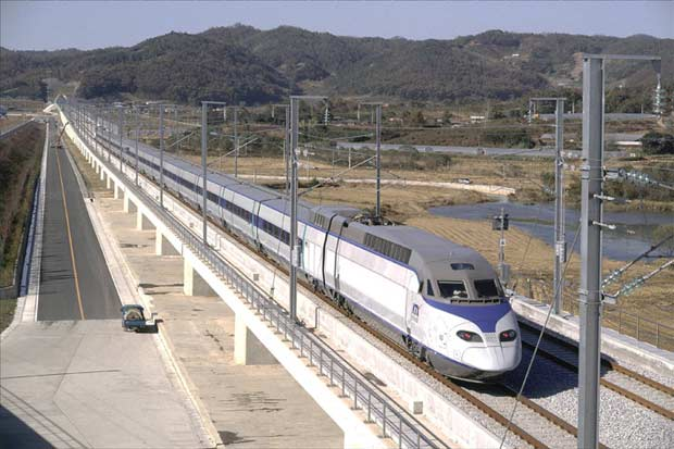Drawn railroad speed train Rail Network United States High