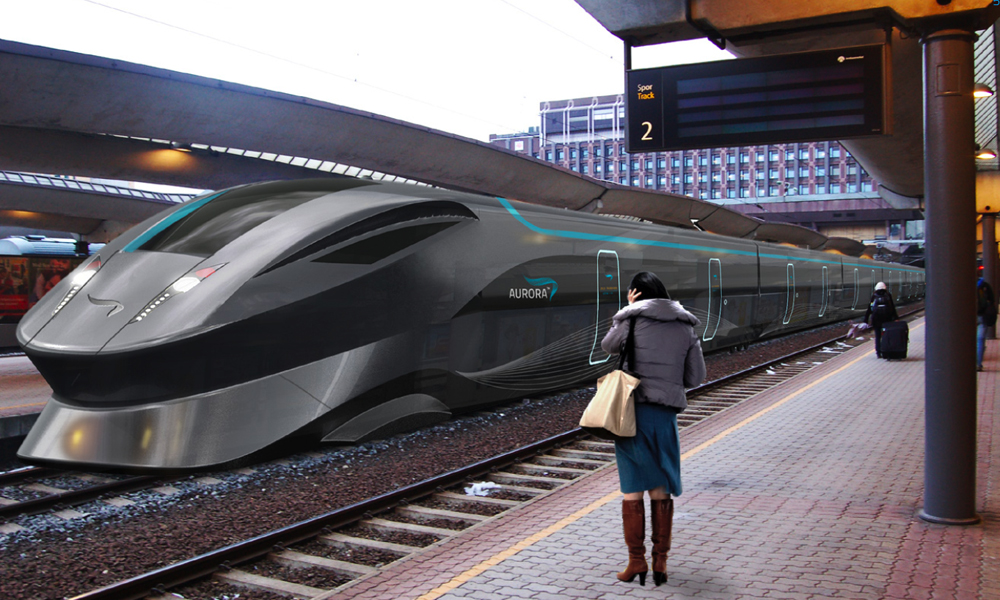 Drawn railroad speeding bullet Google speed speed train high