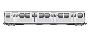 Drawn railroad subway 2011 TTC TTC Subway T1
