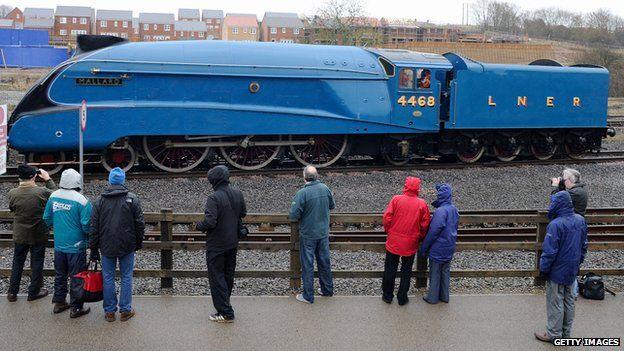 Drawn railroad superfast The speeding locomotive BBC down