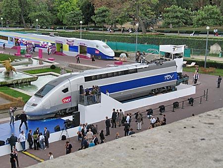 Drawn railroad tgv train Trains and speed high special