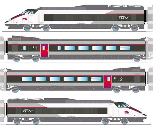 Drawn railroad tgv train · Pinterest on Speed DrawingSpeed