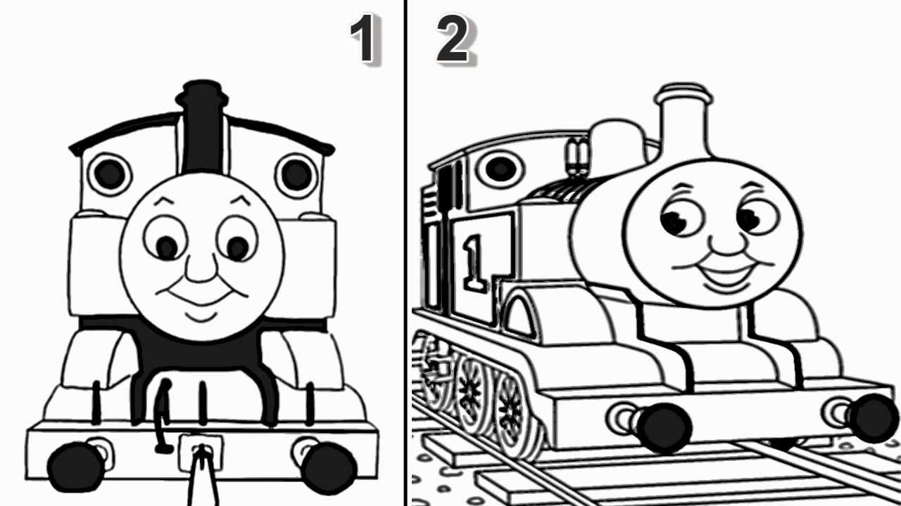 Drawn railroad thomas the tank engine Friends Thomas Train YouTube and