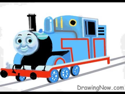 Drawn railroad thomas the tank engine YouTube How  to Draw