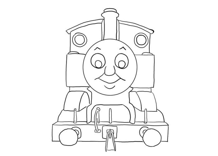 Drawn railroad thomas the tank engine Pages Pages Tank http://fullcoloring com/thomas