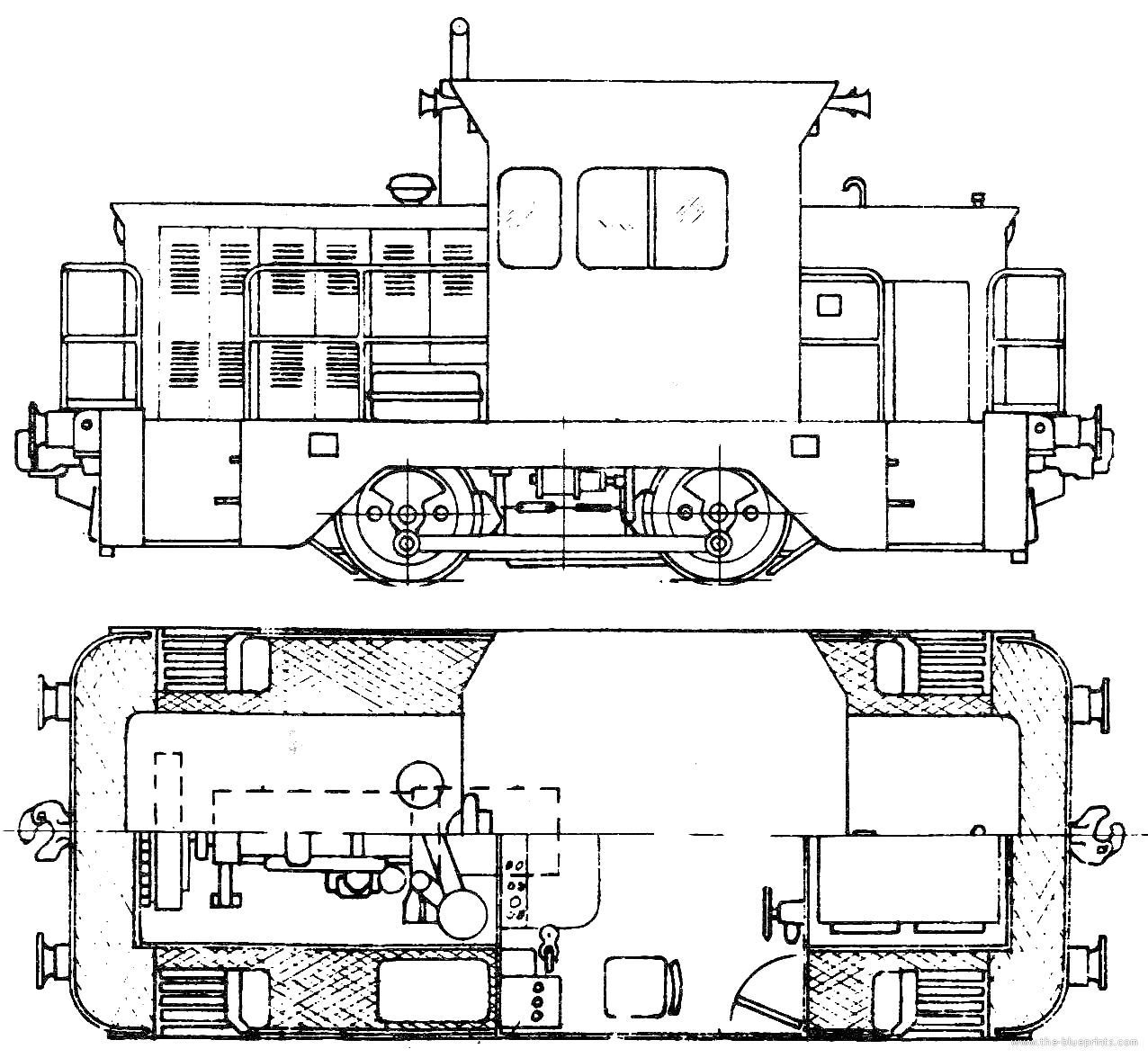 Drawn railroad tractor NSW Tractor Of Railways Trains