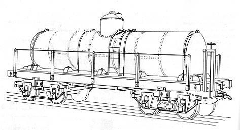 Drawn railroad train car 1875 in this for designed