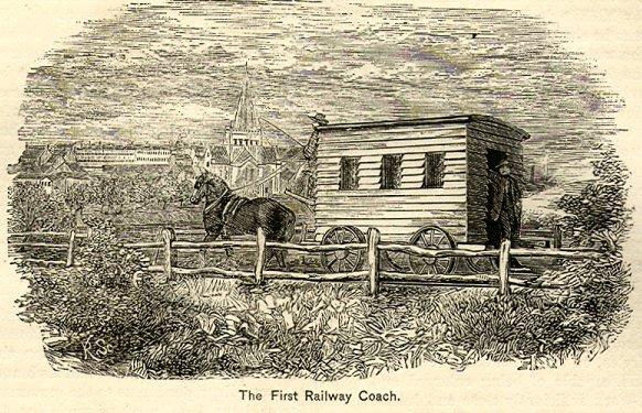 Drawn railroad transportation Transport of rail History Wikipedia