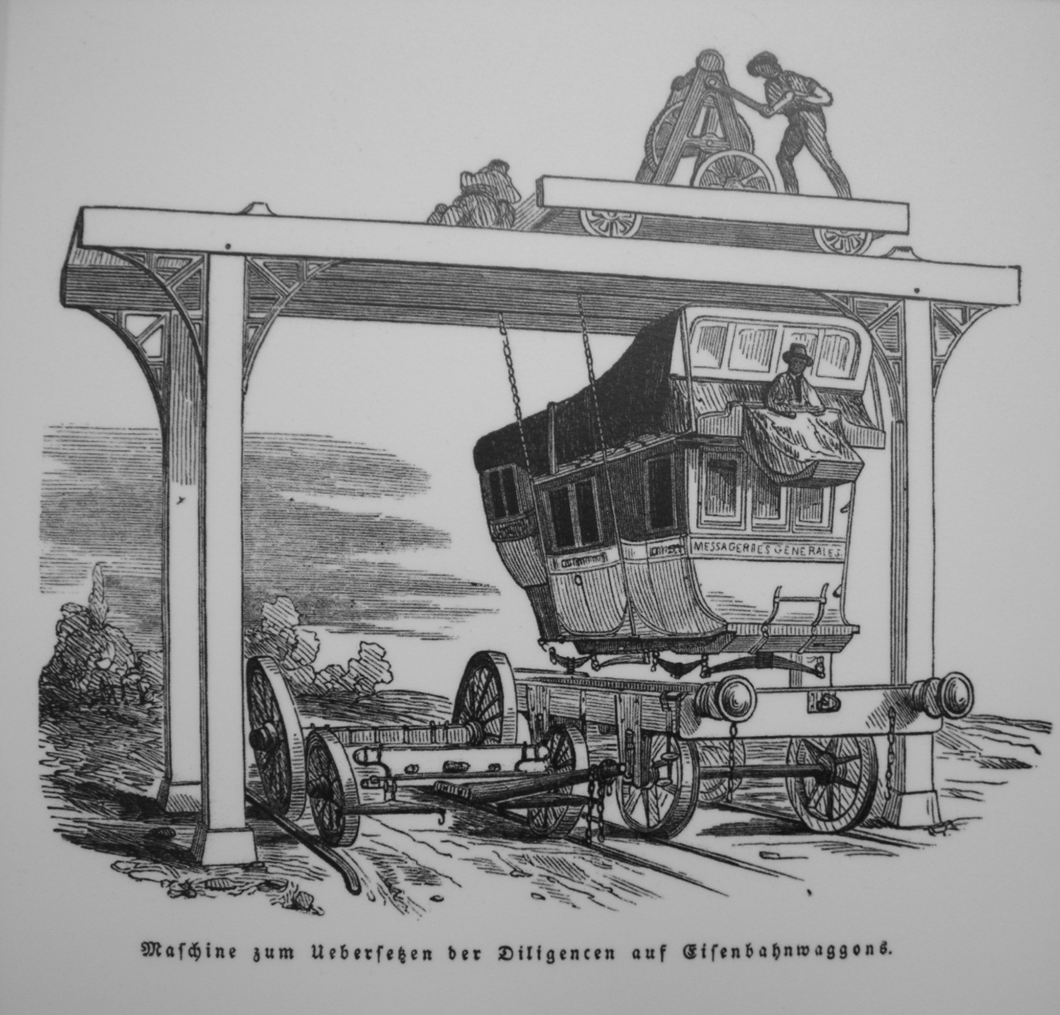 Drawn railroad transportation A – A History Connection