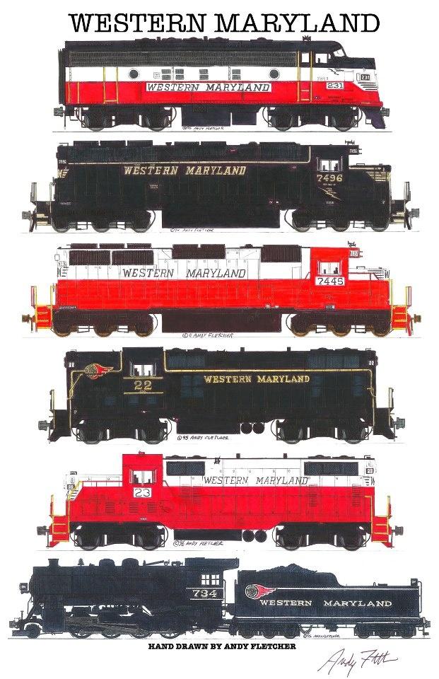 Drawn railroad transportation Best 288 Pinterest Western Train