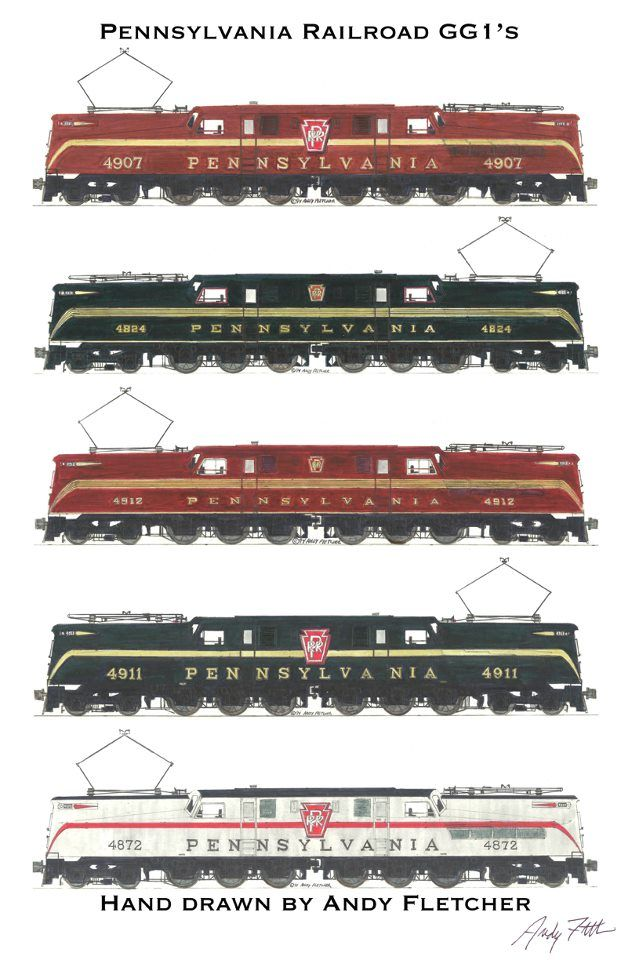 Drawn railroad transportation Pinterest Fletcher images by Andy