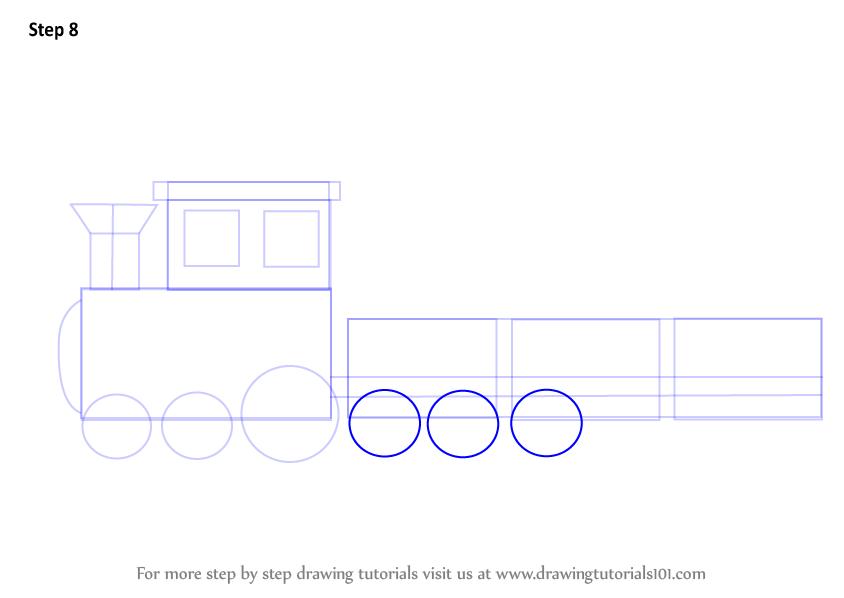 Drawn railroad ukg Draw Step How Kids more