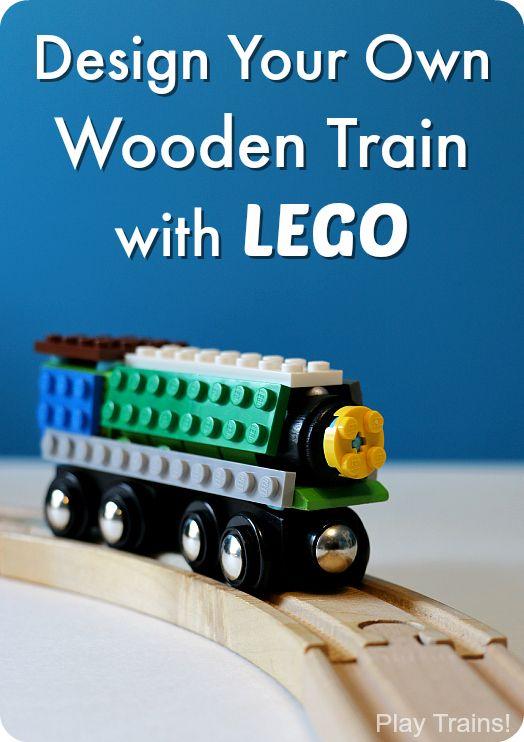 Drawn railroad ukg An A turn LEGO temporary