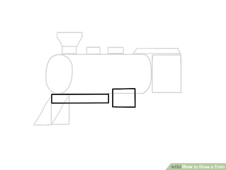 Drawn railroad ukg Image wikiHow Step a Draw