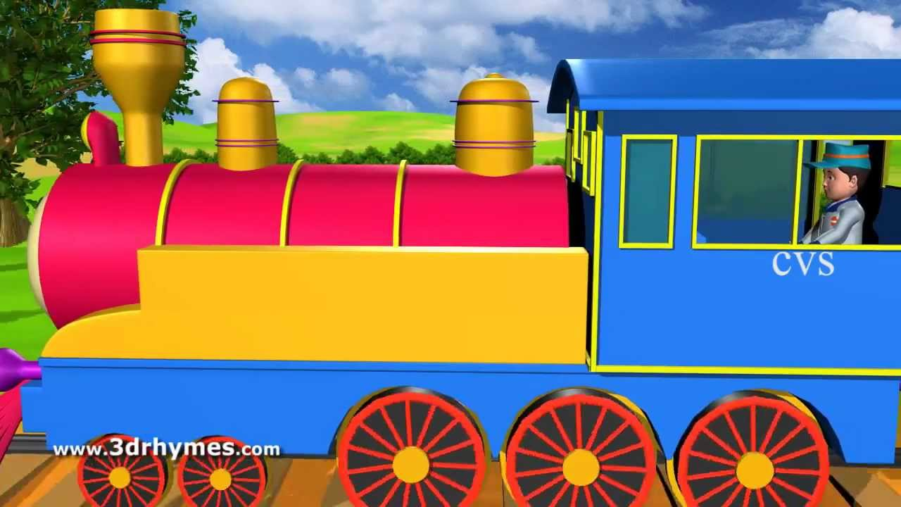 Drawn railroad ukg Piggy song picking Nursery the