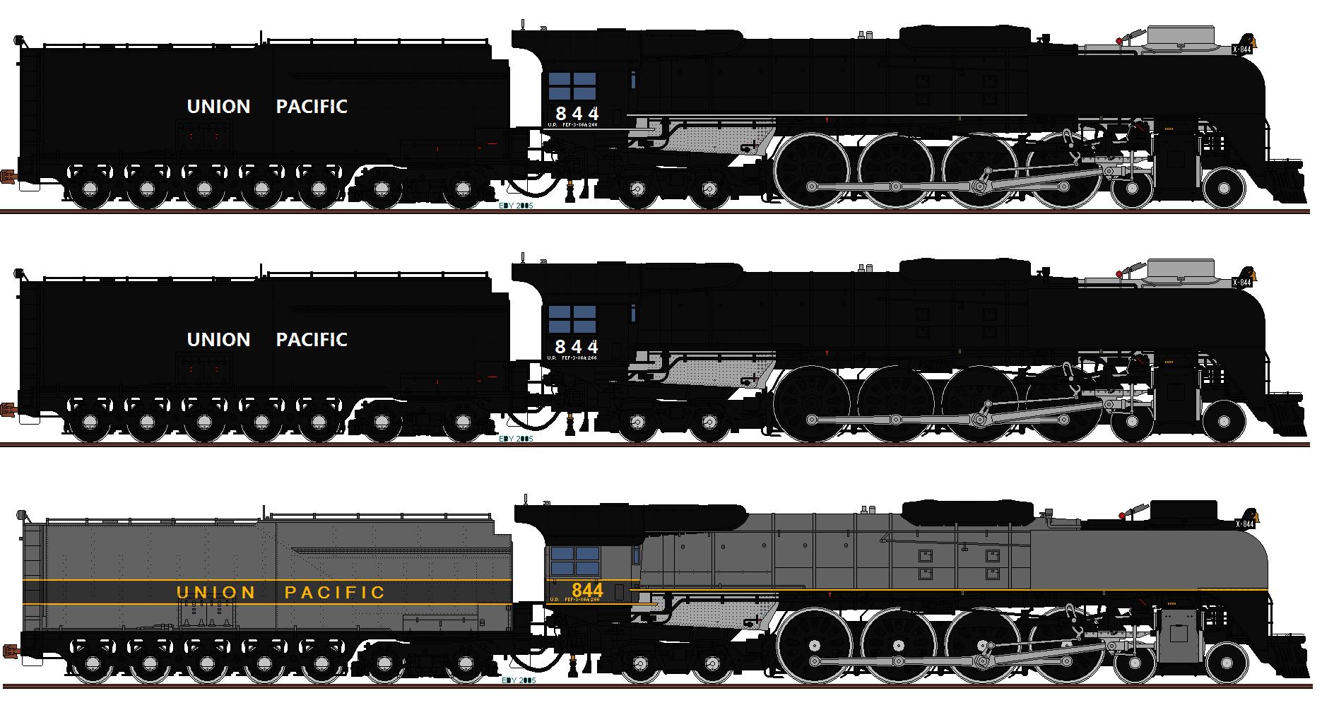 Drawn railroad union pacific train DeviantArt on by o484 Union