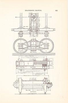 Drawn railroad vintage train Locomotives Drawing Math Train