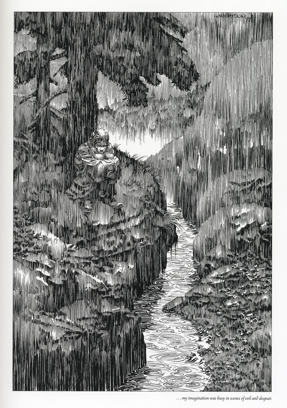Drawn rain How draw rain to help
