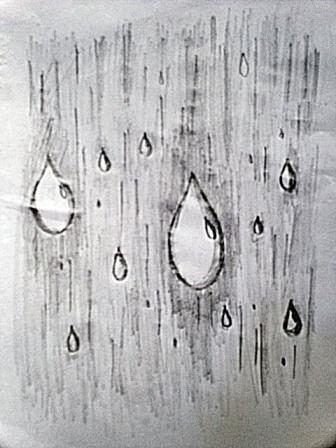 Drawn rain Are into that drops ways