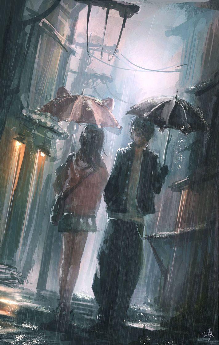 Drawn rain alone boy Boy on <3 ideas Best