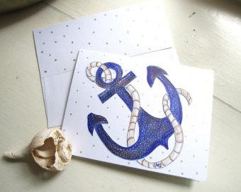 Drawn rain art The Hand Card Drops Card
