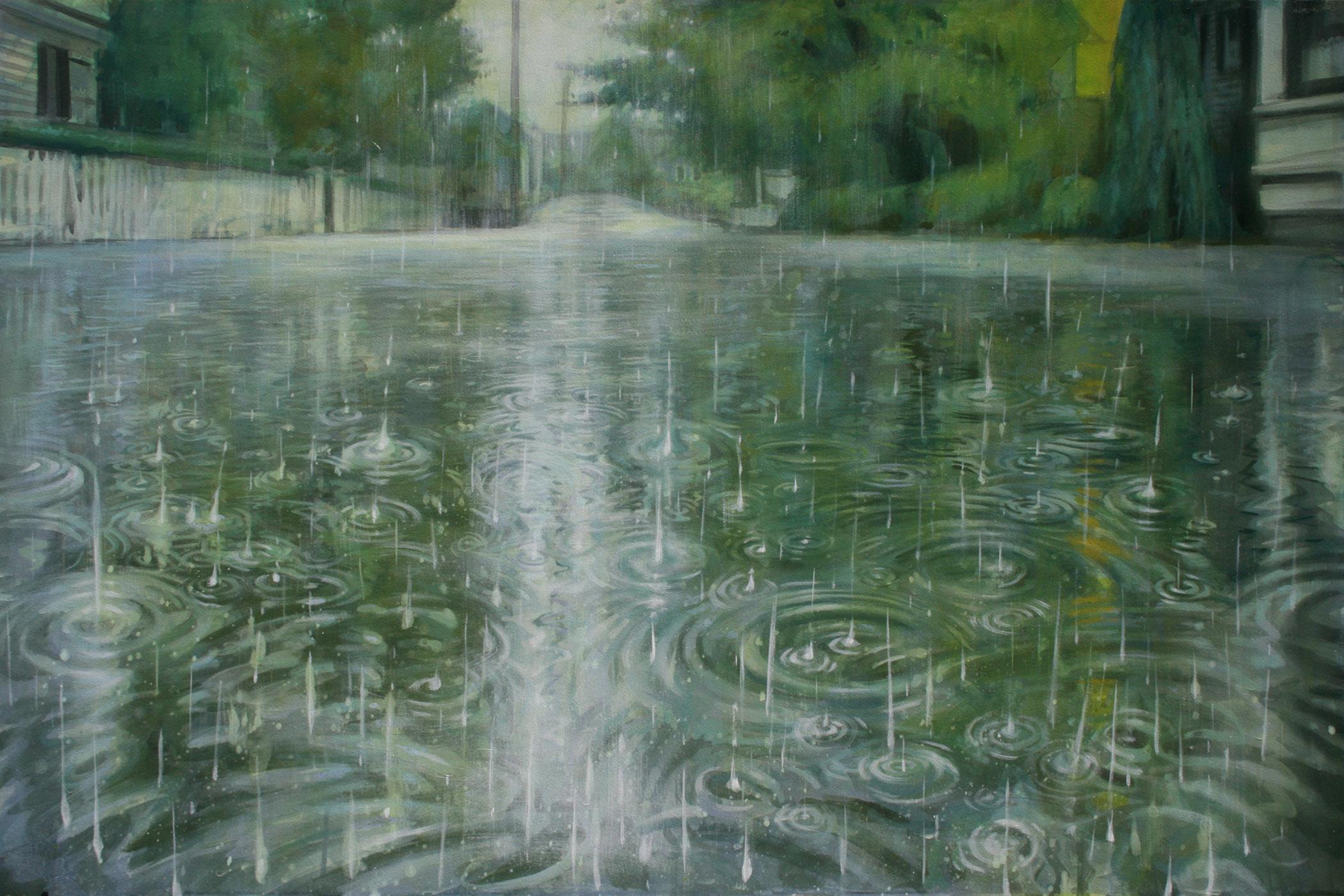 Drawn rain art With Art Graham visit provincetown