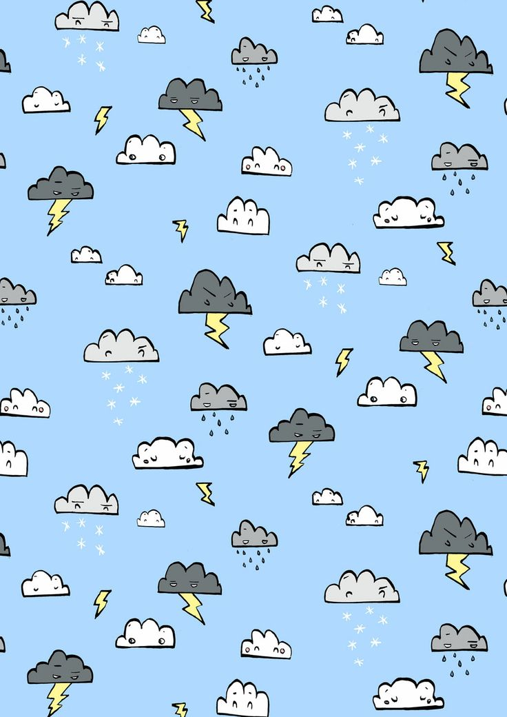Drawn rain background tumblr Thunder obsessed Wallpers see rain