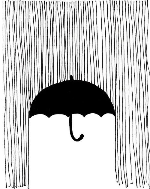 Drawn rain background tumblr Ideas Pinterest idea illustration drawing