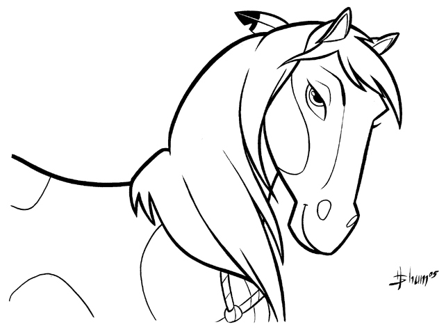 Drawn rain coloring page Coloring Pages Jpg Horse Bestofcoloring