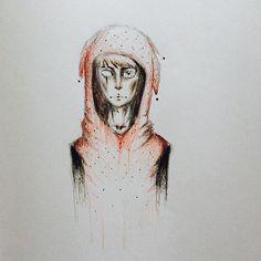 Drawn rain emo #pastel #pen #emo #pencil #pencil