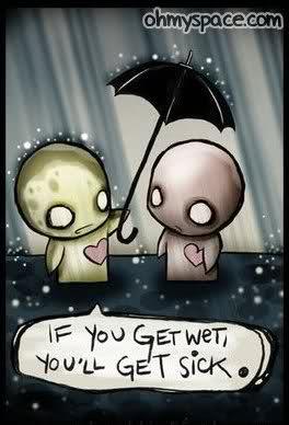 Drawn rain emo Sad cute emo Cartoons cartoon