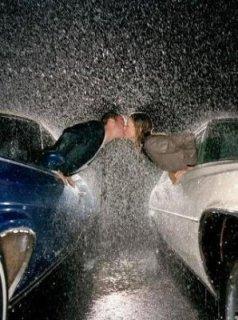 Drawn rain kiss Downs Rain saying a cool