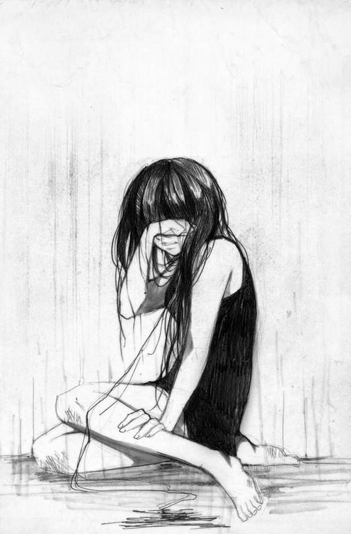 Drawn sad really But girl I to have
