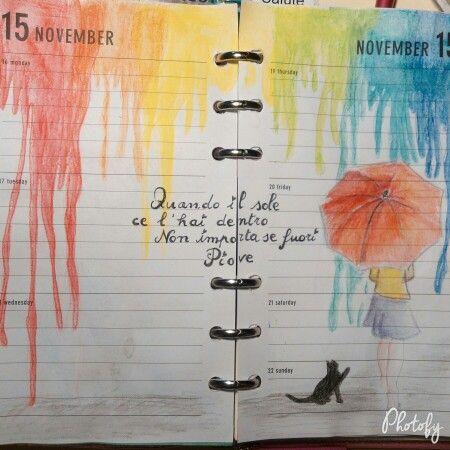 Drawn rain november November Pinterest rain DebbyArts images
