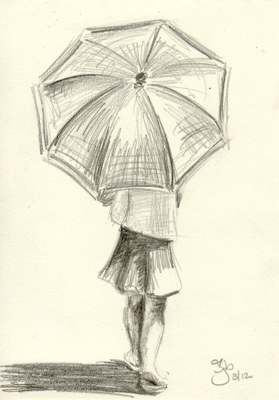 Drawn rain pencil drawing And con more! A Drawing