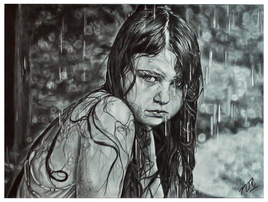 Drawn rain pencil drawing Blog pencil drawing Image Nikhil