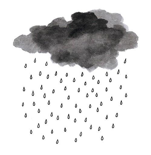Drawn rain rain cloud Drawing Image Drawing Drawing Rain
