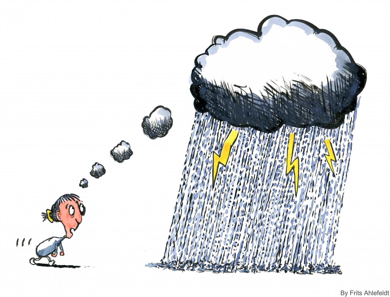 Drawn rain rain cloud Worries pixels × is Artist